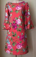 Jessica Howard Floral Print Bell Sleeve Sheath Dress NWT Size 8, 12, 14