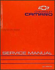 1993 Chevy Camaro Shop Manual Chevrolet Dealer OEM Repair Service Book Z28 Z 28