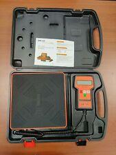 Used Elitech Lmc 100f Digital Refrigerant Charging Freon Weight Scale Hvac Scale