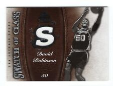 2007-08 SP Game Used Swatch of Class #SCDR David Robinson Jersey