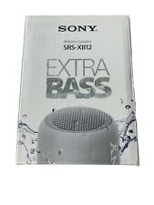 Sony Srs-xb12 Compact and portable Waterproof Wireless Speaker with Extra Bass -