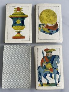 Old Vintage Spanish Playing Cards Deck Fabrica Bertschinger  Naipes not tarot