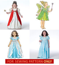 SEWING PATTERN!  MAKE GIRL FANCY DRESS~ROBE~QUEEN~PRINCESS~FAIRY COSTUME~DRESSUP