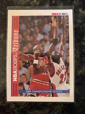 MICHAEL JORDAN BULLS 1993-94 NBA HOOPS TRIBUTE INSERT CARD TR1 Chicago Bulls