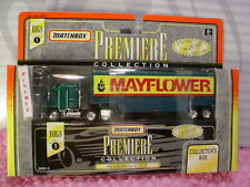htf Matchbox MAYFLOWER KENWORTH C.O.E. RIG☆Green☆PREMIERE ☆COLLECTOR'S BOX☆NIB