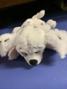 "Disney Bean Bag Plush 101 Dalmatians Penny Dog Puppy Laying Down Soft - 9"" Q6"