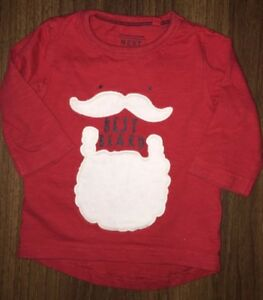 Boys Age 3-6 Months - Next Christmas Long Sleeved Top ⛄️