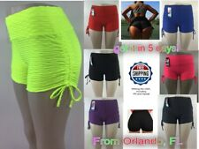 Compression Women Booty Shorts Yoga Pants Sport Gym Fitness Running Buttlift M/L