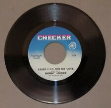 BOBBY MOORE & RHYTHM ACES Searching For My Love/Hey Mr DJ Checker 45 r&b 1966 NM
