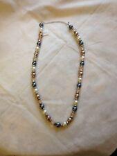 Perlenkette, hochwertige Modeschmuck Ausführung,70 cm lang,Pullover,Bluse,Kleid