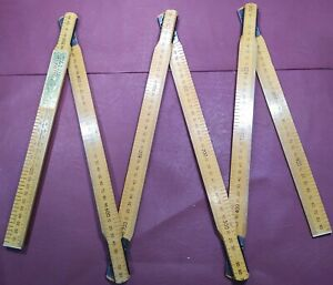 Rabone Chesterman Wooden Ruler No.1641 2M