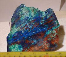 Blue Bird Mine Chrysocolla Azurite Malachite Cuprite slab 4.2 oz (120 grams)