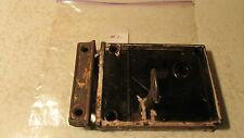 Antique Cast Iron Rim Lock & Key No. 2