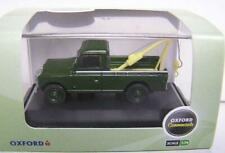 OXFORD Land Rover Tow Truck / Green colour / Scale 1:76 / NEW - Boxed