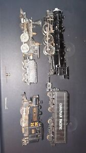 Ho Scale Steam Engines For Parts Or Repair