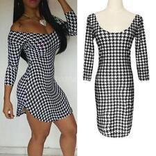 Polyester 3/4 Sleeve Animal Print Regular Dresses for Women