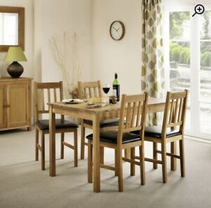 Alessandra Solid Wood Dining Chair (Set of 4)