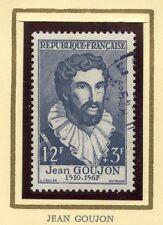 STAMP / TIMBRE FRANCE OBLITERE N° 1067 / CELEBRITE / JEAN GOUJON  COTE 7 €