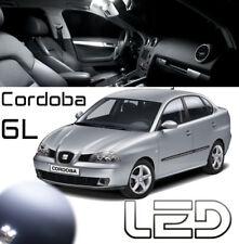 SEAT CORDOBA 6L 3 Ampoules Led Blanc Plafonnier éclairage intérieur Dome light