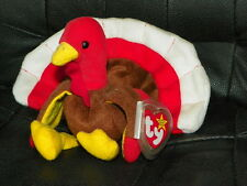 NWT TY Beanie Baby GOBBLES The TURKEY Thanksgiving Fall