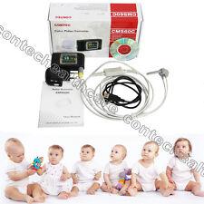 CMS60C TFT Finger Pulse Oximeter+probe(infant) SPO2 probe+USB+CD,Pulse Rate SW