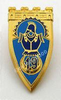 Insigne ~ (badge/insignia) ♦ MILITAIRE 19 EME REGIMENT DE GENIE AB.ATLAS