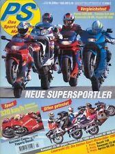 PS9503 + KAWASAKI ZX-9R vs. YAMAHA FZR 1000 + SUZUKI RF 900 RS2 + PS 3/1995