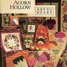ACORN HOLLOW Nancy Halvorsen Quilt Applique NEW BOOK Autumn Holloween Projects