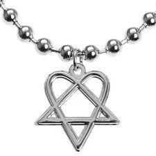 H.I.M. - Heartagram Ball Chain Necklace