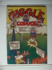 Giggle Comics #54 G Walk The Tight Wire