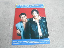 #9 EPI-LOG JOURNAL television magazine ( UNREAD - NO LABEL) QUANTUM LEAP