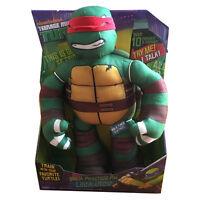 New Nickelodeon Practice Pal Leonardo Ninja Turtles Talking Plush Toy Soft Dolls