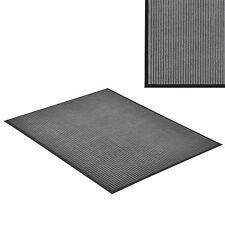 [en.casa]® Paillasson 150x90cm gris foncé tapis tapis de salon