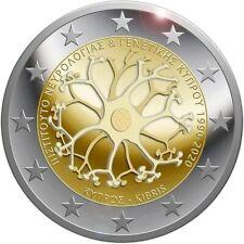 2 euro commémorative Chypre 2020 - Institut de neurologie et de génétique