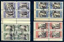 SPAIN-TANGIER - SPAGNA-TANGERI - 1946 - Francobolli di beneficenza.Quartina.R444