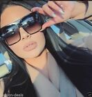 Flat Top Huge Big Oversized XXL Square Women quality Sunglasses Lauren Shades