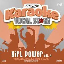 Zoom Karaoke Vocal Stars Girl Power Volume 4 CD + G New Sealed