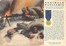 C4375) WW2 GRECIA M.O. PAGLIARIN DA VITTORIO VENETO 1 REGGIMENTO ALPINI. VG.