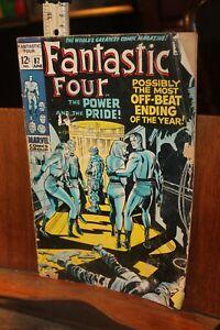 Marvel ROUGH 1969 Fantastic Four  No. 87