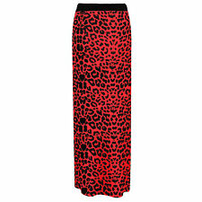 NEW LONG MAXI SKIRT WOMENS GYPSY BODYCON JERSEY LADIES DRESS FULL PLUS SIZE 8-26