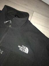 Mens The North Face Half Soft Shell Zip Up Wind-stopper Fleece Size Large