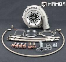 "MAMBA Ball Bearing Billet Turbocharger 4"" GTX3076R GT3076R w/ A/R .82 T3 V-Band"