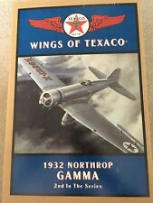 Wings of Texaco 1932 Northrop Gamma Diecast Coin Bank- 2nd in the Series Nib
