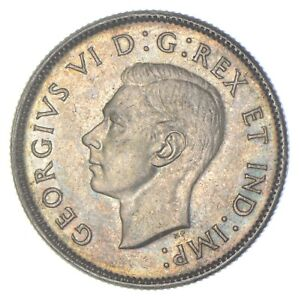 Better Date - 1944 Canada 25 Cents - SILVER *255