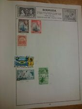 Bermuda Used Stamps x6 1910 - 1967