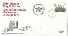 GB SPECIAL CANCEL F.D.C. CORFE CASTLE 1/3/78 SG1054;NUMBERED COVER 1934;+INSERT.