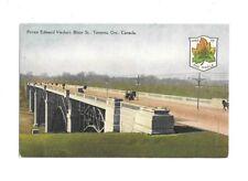 VTG Postcard Prince Edward Island Viaduct Boor St Toronto Ontario Canada
