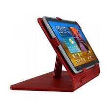 "Housse Etui Universel pour Samsung Galaxy Tab P1000 (7"") Couleur Rouge"