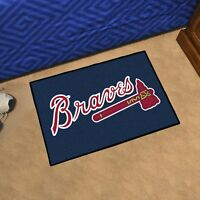 "MLB - Atlanta Braves Durable Starter Mat - 19"" X 30"""