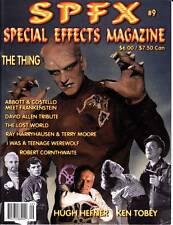 SPFX #9 - 2000 film fanzine - Ray Harryhausen, THE LOST WORLD, THE THING